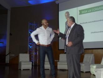 CRECE Día 1 Empresas: Andrés Moreno y Dervy Jimenez